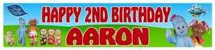 Personalised In the Night Garden Banner