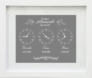 Personalised In These Moments Print