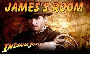 Personalised Indiana Jones Door Plaque