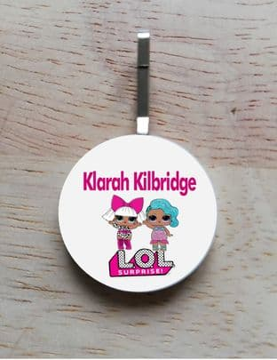 Personalised LOL Dolls Jacket Zipper Pull