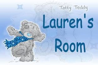 Personalised Me to You Tatty Bear Door Plaque