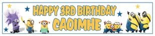 Personalised Minions Banner 1