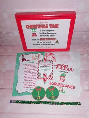 Personalised Returning Elf Arrival Box