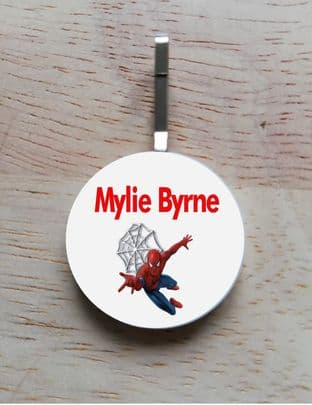 Personalised Spider-man Jacket Zipper Pull