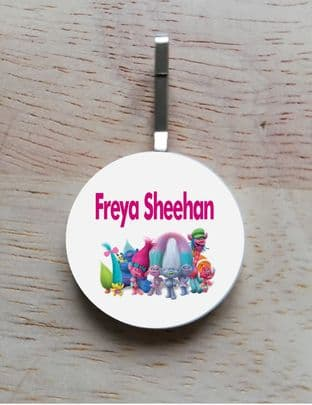 Personalised Trolls Jacket Zipper Pull