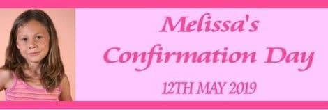 Pink Photo Confirmation Bar Wrapper