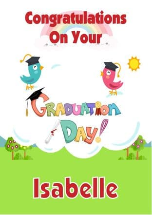 Preschool Graduation Card Design 2