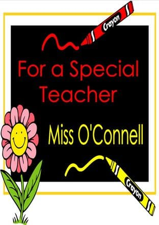 Thank You Teacher Card Design 2