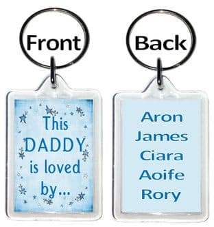This Daddy (or other title) is love by  Keyring