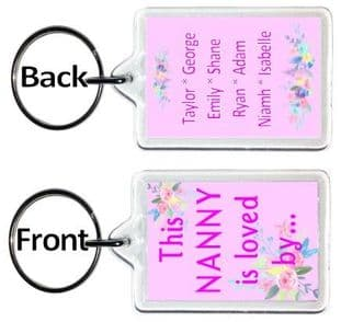 This Nanny (or other title) is loved by Keyring