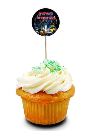 Transformers Cupcake Picks/Toppers