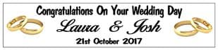 Wedding Rings Banner