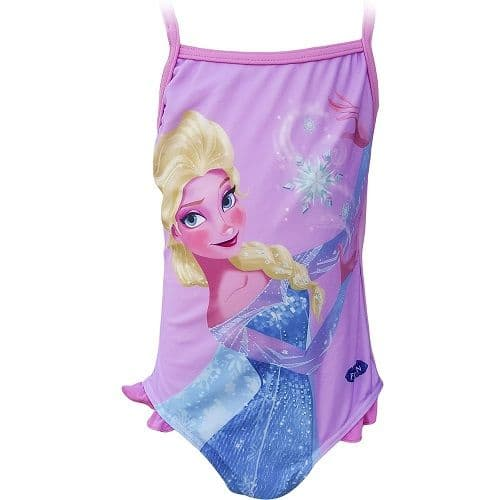 Disney Frozen One Piece Swimsuit Pink/Lilac