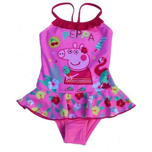 Peppa Pig Tropical Swimsuit Light Pink