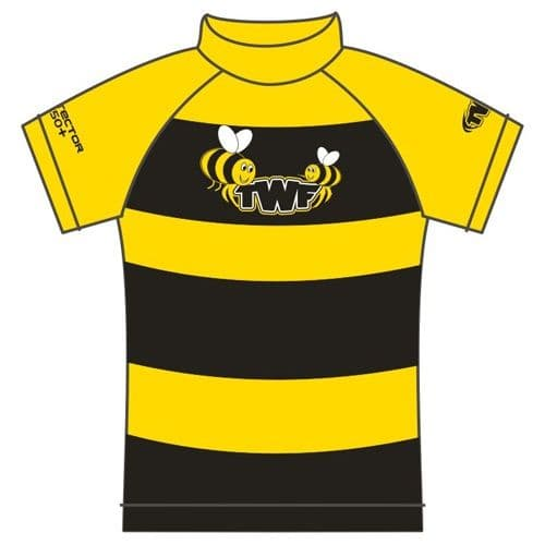 TWF Kids Bumble Bee UV Sun Protection Rash Vest UPF 50+
