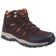 Cotswold Stowell Mens Hiking Boots Dark Brown