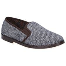 GBS Stafford Slipper Classic Mens Slippers Brown