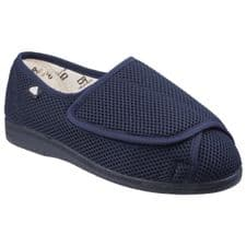 Mirak 300 Touch Fastening Mens Slippers Navy