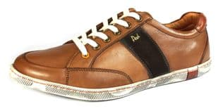 POD KYLE Tan Brown Lace Up Casual Shoes