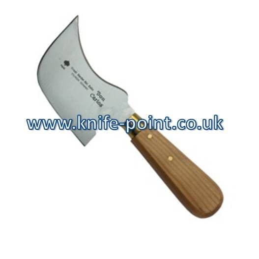 10 x knife DEAL for Original German Don Carlos Quarter Moon knives for floor layers & window fitters