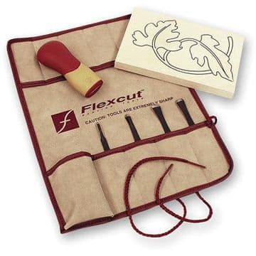 Flexcut 5 Piece Craft Carver Set SK106