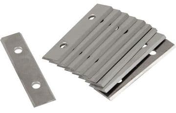 Linbide LGPS50 & Stanley 0-28-640 compatible 50mm tungsten carbide scraper blades - 100 pieces