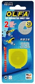 RB28 - pack of 2 pieces of original Olfa 28mm rotary blades