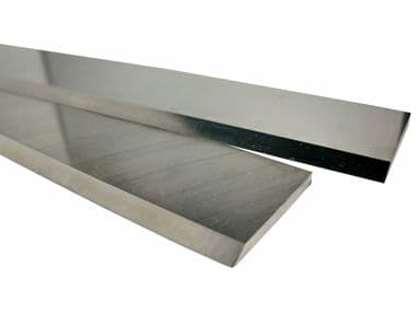 ROBLAND type planer blades 310mm long, T1 HSS 18%W quality