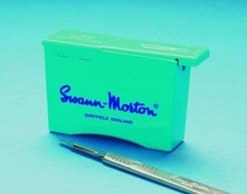 Swann Morton blade remover unit - (each unit holds up to 100 blades) pack of 10 units