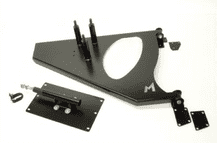 Terrafirma Defender spare wheel carrier for 90 and 110 Station Wagons and Hard Tops