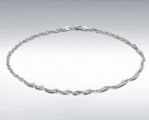 Anklet Singapore sterling silver ankle chain