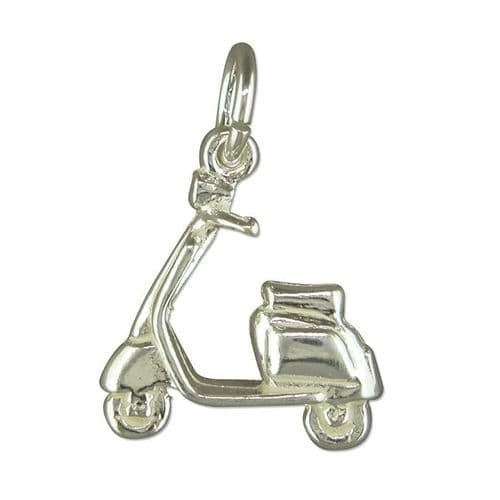 Scooter Charm Sterling Silver