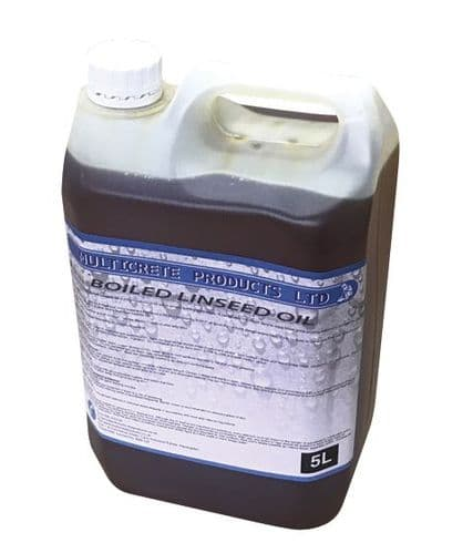 BOILED LINSEED OIL 1L, 2.5L or 5L