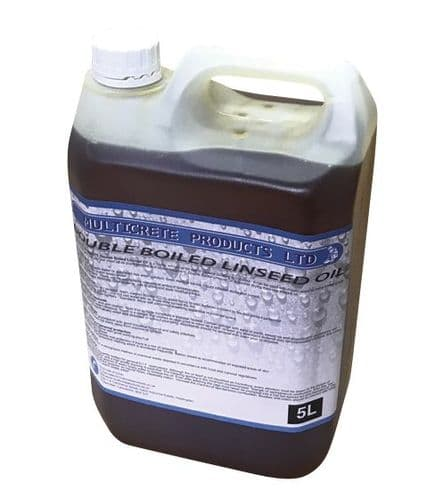 DOUBLE BOILED LINSEED OIL 1L, 2.5L or 5L