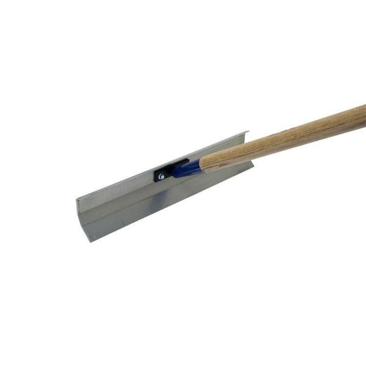 """Kraft Concrete Placer 20 x 5"""" with 60"""" long Handle"""