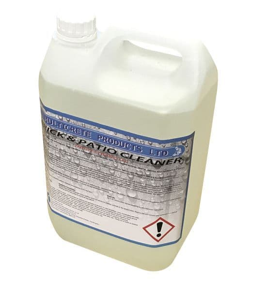 Multicrete 15% Hydrochloric Acid / Brick and Patio Cleaner High Strength - 5L