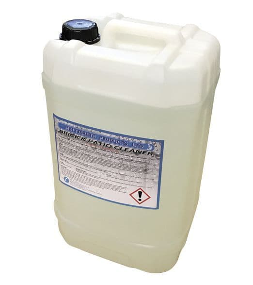 Multicrete 20% Hydrochloric Acid/Brick and Patio Cleaner High Strength - 25L