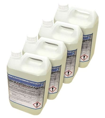 Multicrete 20% Strength Hydrochloric Acid/Brick and Patio Cleaner High Strength - 20L