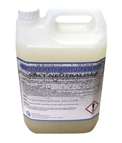 Multicrete Salt Neutraliser Available in 1 or 5L