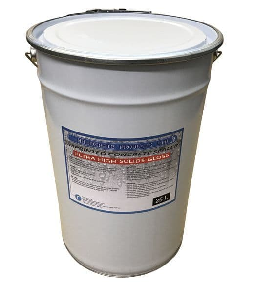Pattern Imprinted Concrete Sealer - Ultra High Solid Gloss Sealant (25Ltr)