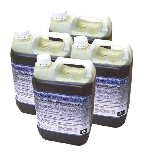 Raw Linseed Oil 20L Protect and Nourish Hard Woods