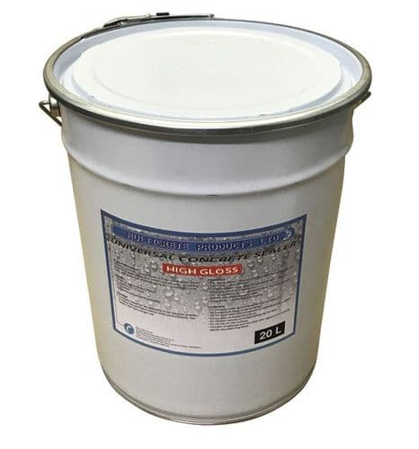 Universal Concrete Sealer - High Gloss (20L)