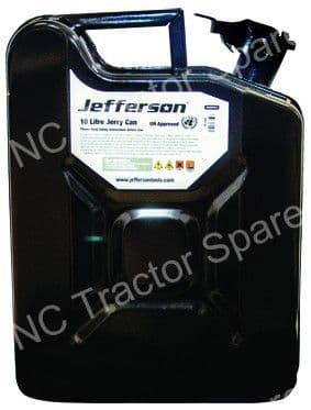 10 Litre Black Jerry Can