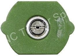25° Green Flushing Tip Q/Release Nozzle