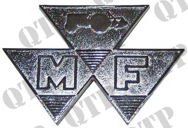 Badge 65 Triangle Chrome