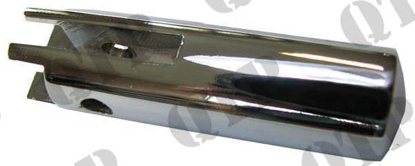 Bonnet Button FE 35 - Chrome