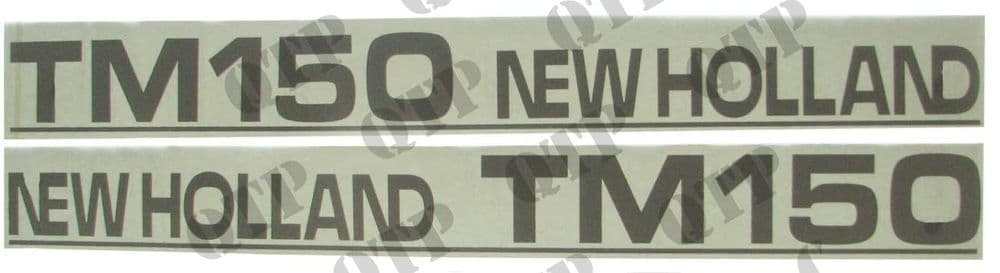 Decal New Holland TM150 - Set Old Type