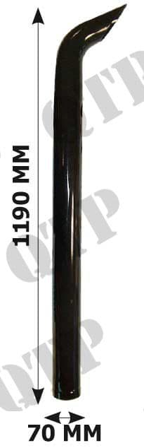 Exhaust Ford 7740 7840 8240 8340 Pipe