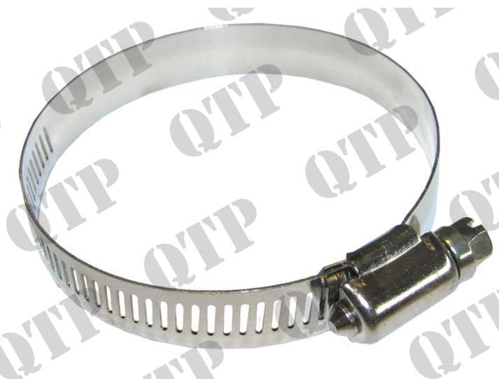 Hose Clip 60-80mm Stainless Steel Box of 10