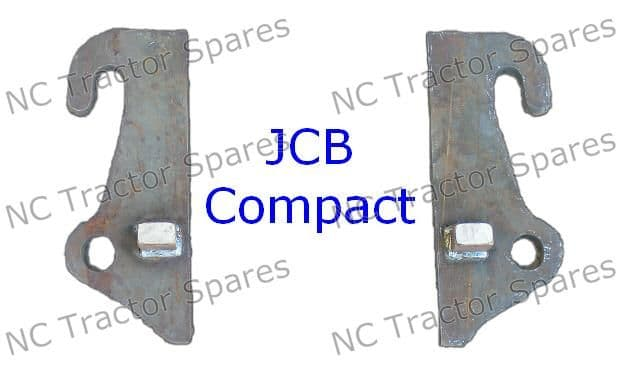 JCB Compact Head Loader Bracket Pair